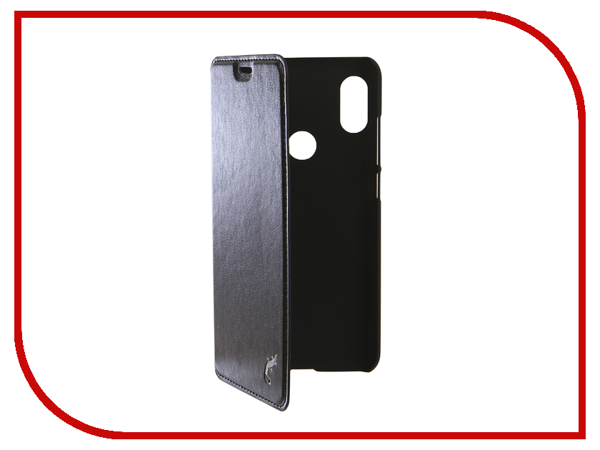 Аксессуар Чехол для Xiaomi Redmi Note 6 / Note 6 Pro G-Case Slim Premium Black GG-998 аксессуар чехол для xiaomi redmi 6 pro gecko transparent white s g xir6pro wh