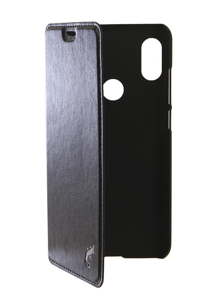 Аксессуар Чехол G-Case для Xiaomi Redmi Note 6 / Note 6 Pro Slim Premium Black GG-998 цена и фото
