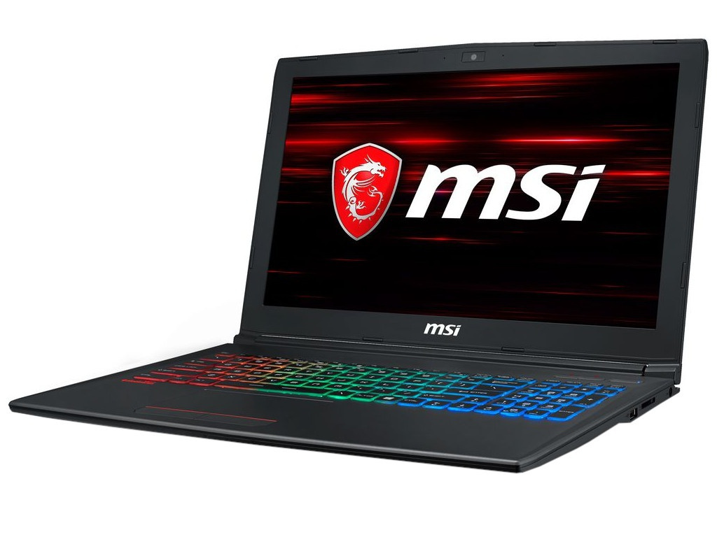Ноутбук MSI GF62 8RD-267RU MS-16JF 9S7-16JF22-267 Black (Intel Core i5-8300H 2.3GHz /8192Mb/1000Gb/No ODD/nVidia GeForce GTX 1050Ti 4096Mb/Wi-Fi/Bluetooth/Cam/15.6/1920x1080/Windows 10 64-bit)