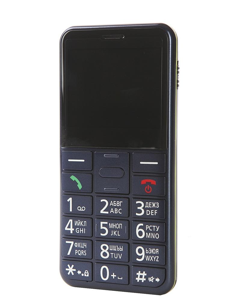 Сотовый телефон Panasonic KX-TU150RU Blue сотовый
