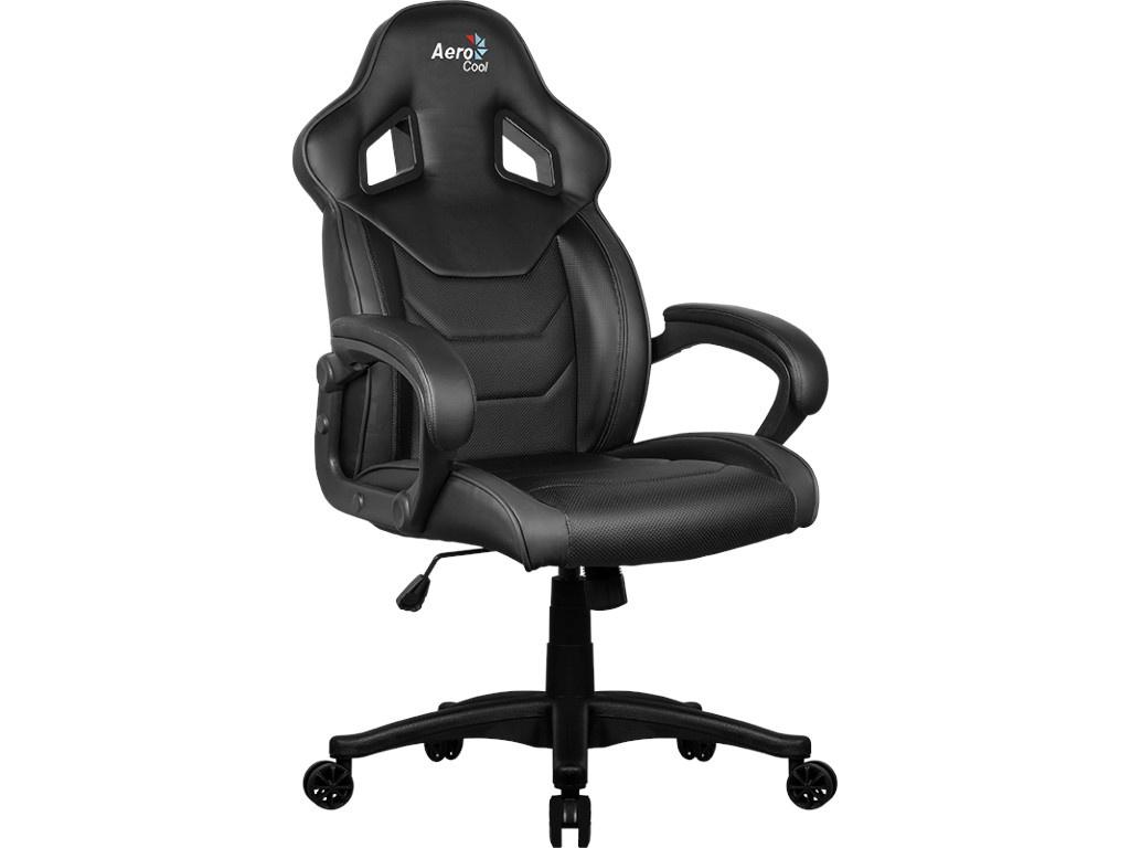 Компьютерное кресло AeroCool AC60C AIR-B Black кресло для геймера aerocool ac60c air bg черно зеленое