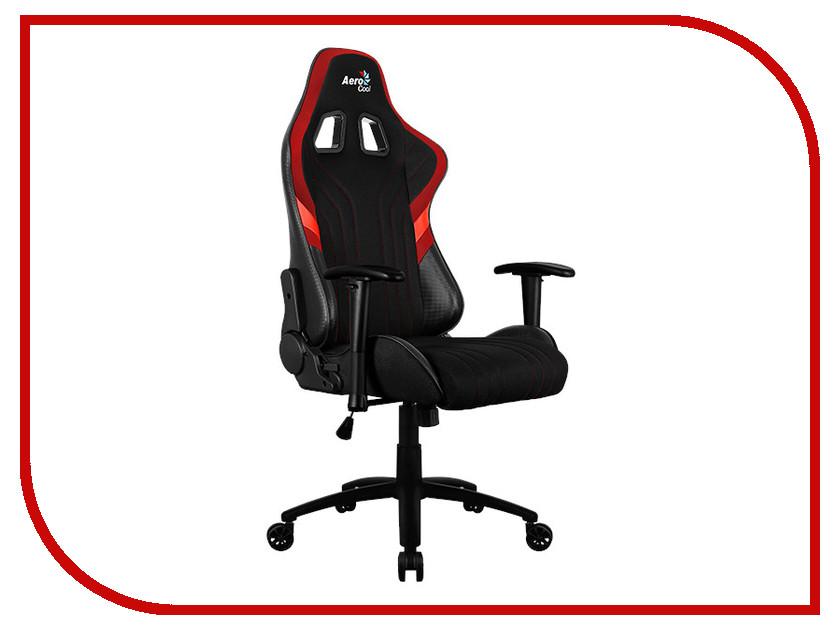 Компьютерное кресло AeroCool AERO 1 Alpha Black-Red dxracer oh ea01 nr компьютерное кресло black red