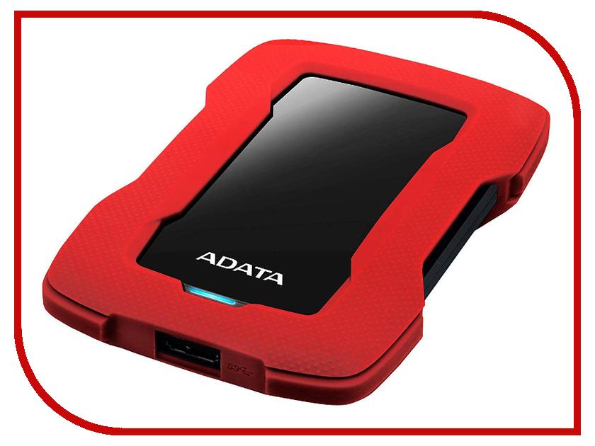 Купить Жесткий диск ADATA HD330 2TB Red AHD330-2TU31-CRD, A-Data