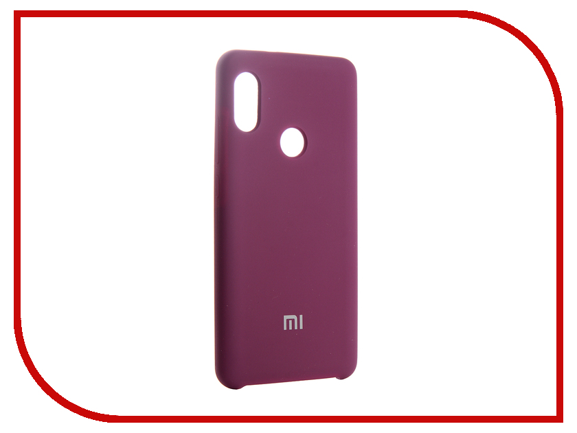 Аксессуар Чехол для Xiaomi Redmi Note 5 Pro Innovation Silicone 13554 аксессуар чехол книга для xiaomi redmi 5 plus redmi note 5 innovation book silicone rose gold 11447