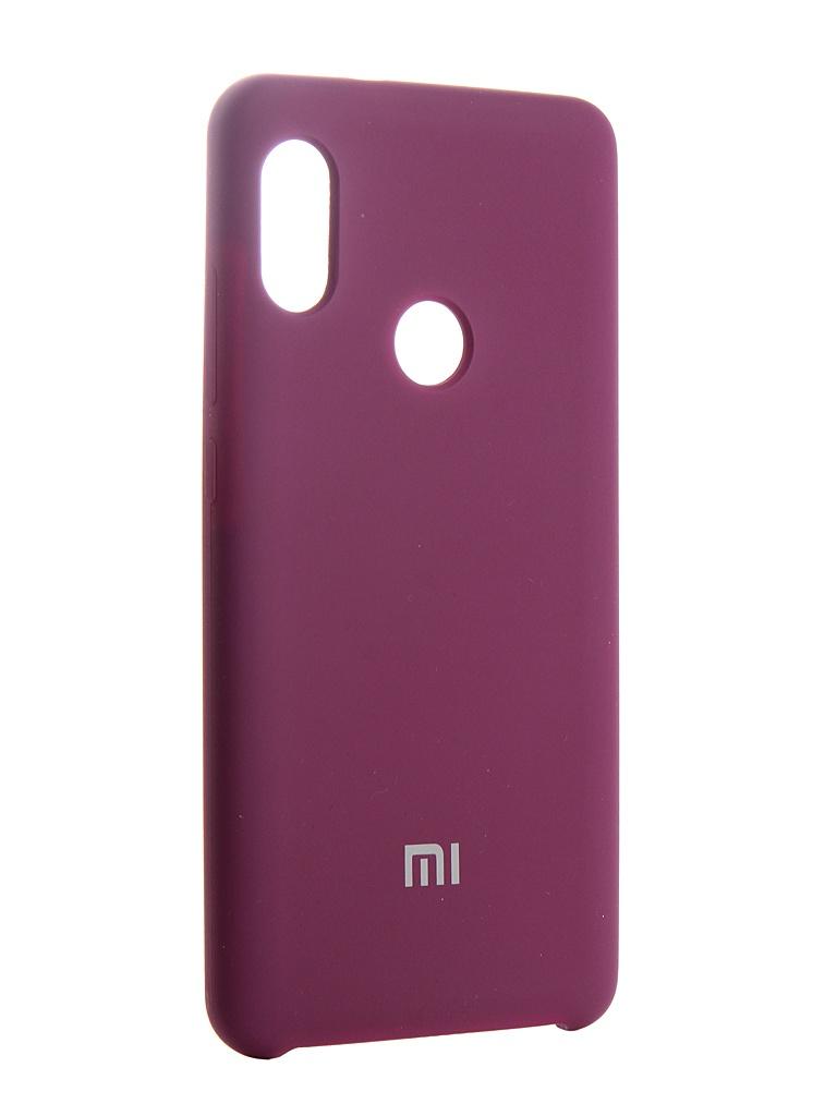 Аксессуар Чехол Innovation для Xiaomi Redmi Note 5 Pro Silicone 13554 аксессуар чехол книга innovation для xiaomi redmi 5 plus redmi note 5 book silicone gold 11448