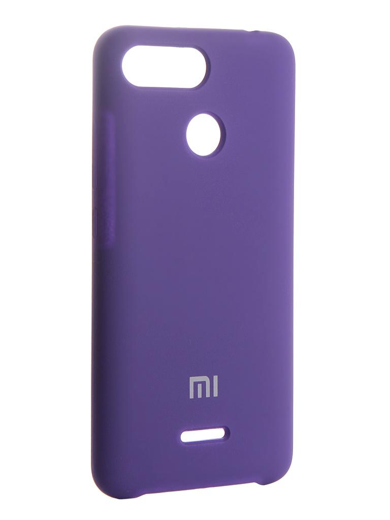 Аксессуар Чехол Innovation для Xiaomi Redmi 6 Silicone Purple 13551
