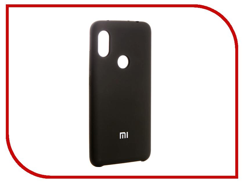 Аксессуар Чехол для Xiaomi Redmi Note 6 Innovation Silicone Black 13530 аксессуар противоударное стекло для xiaomi redmi 5 innovation 2d black 12117