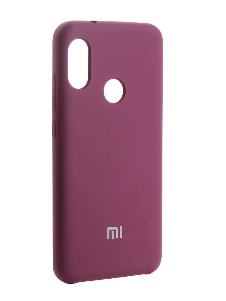 Чехол Innovation для Xiaomi Redmi 6 Pro Silicone Purple 13550