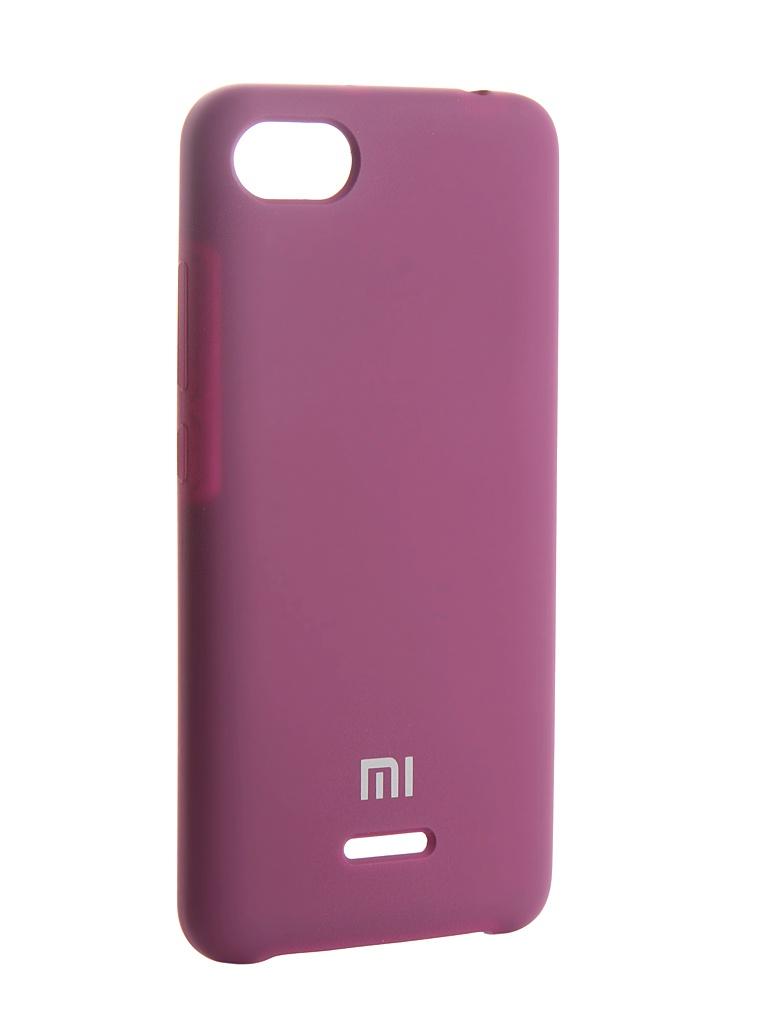 Аксессуар Чехол Innovation для Xiaomi Redmi 6A Silicone Purple 13549 аксессуар