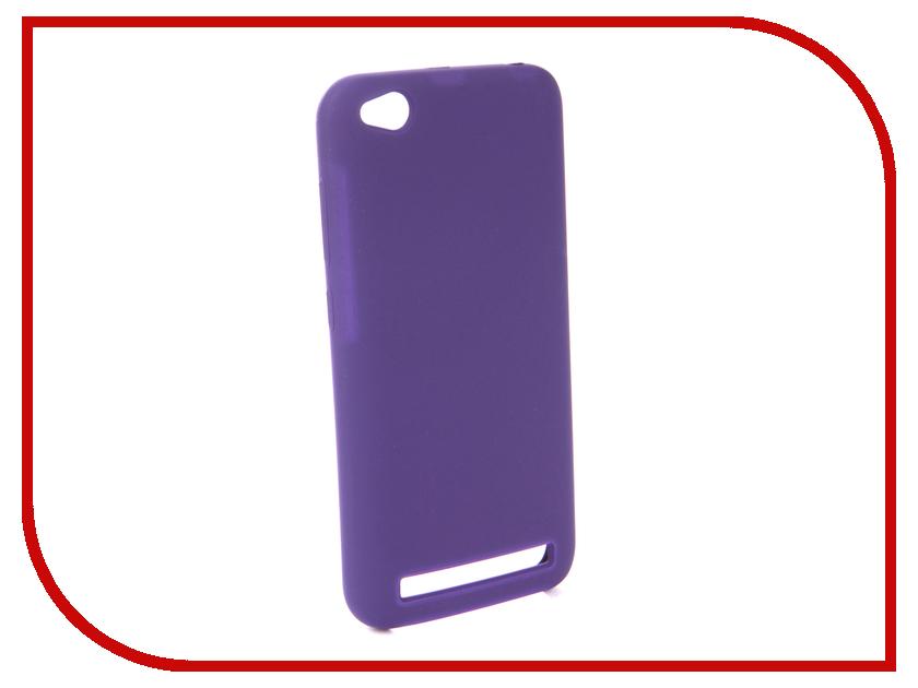Аксессуар Чехол для Xiaomi Redmi 5A Innovation Silicone Purple 13546 аксессуар чехол для xiaomi redmi 5a innovation transparent 13153
