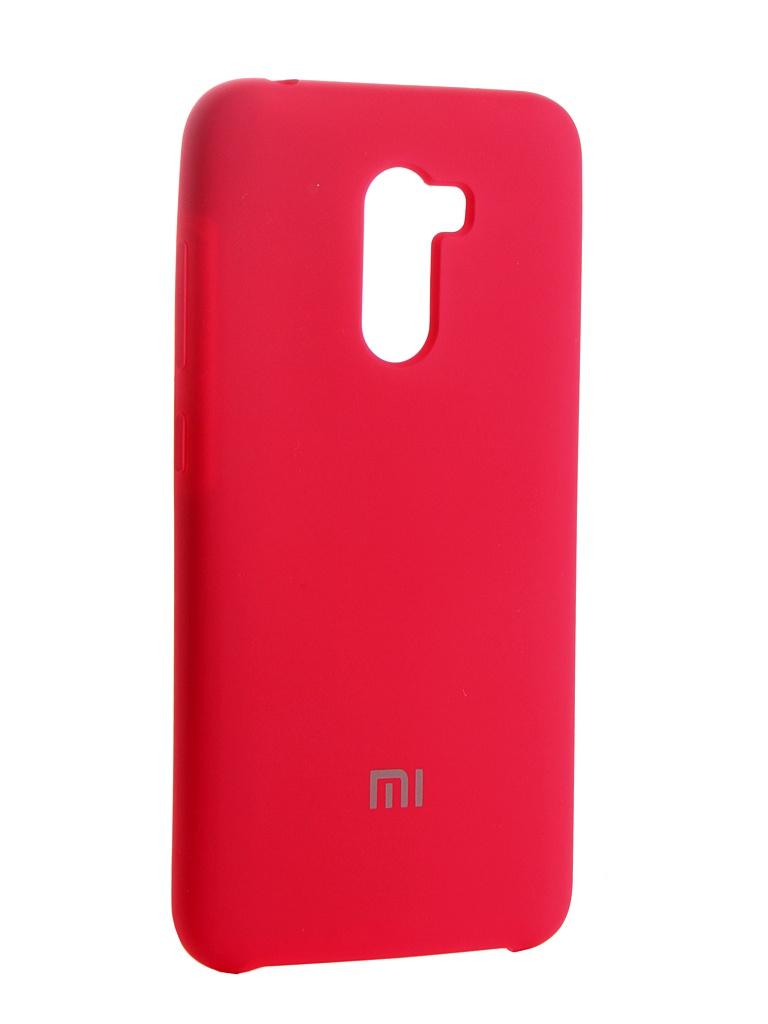 Аксессуар Чехол Innovation для Xiaomi Pocophone F1 Silicone Pink 13544