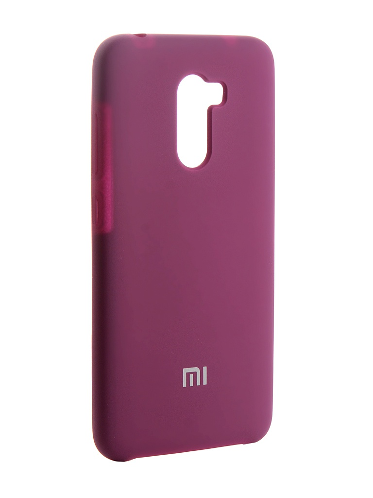 Аксессуар Чехол Innovation для Xiaomi Pocophone F1 Silicone Purple 13542