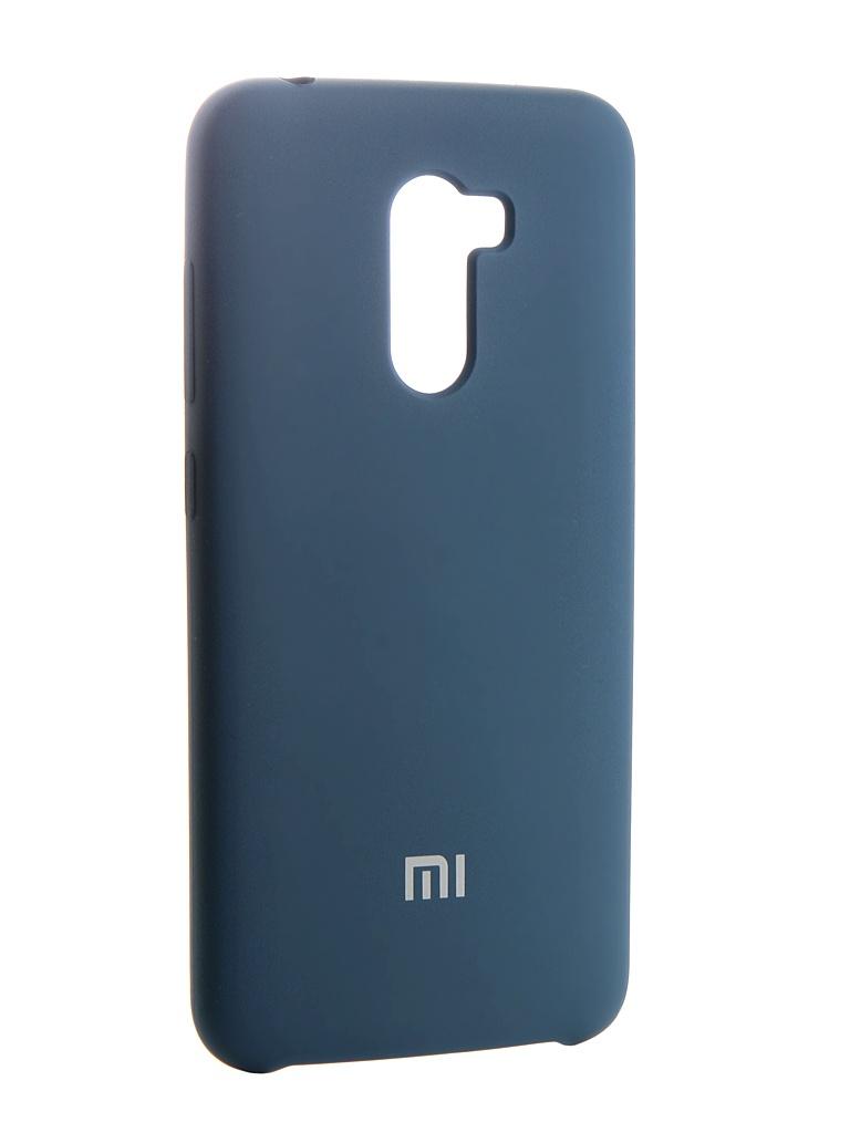 Чехол Innovation для Xiaomi Pocophone F1 Silicone Blue 13541