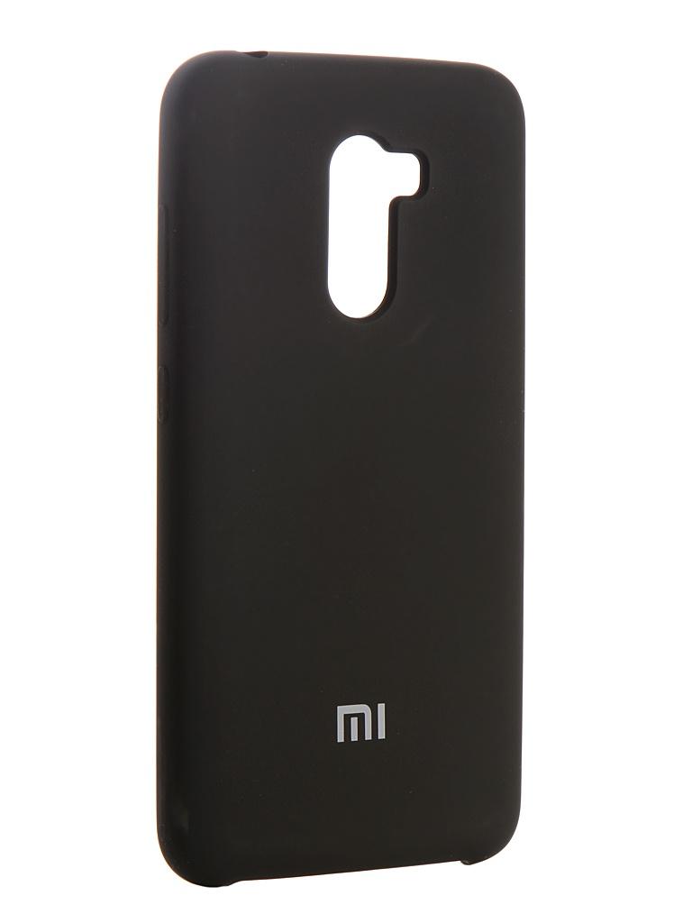 Аксессуар Чехол Innovation для Xiaomi Pocophone F1 Silicone Black 13540