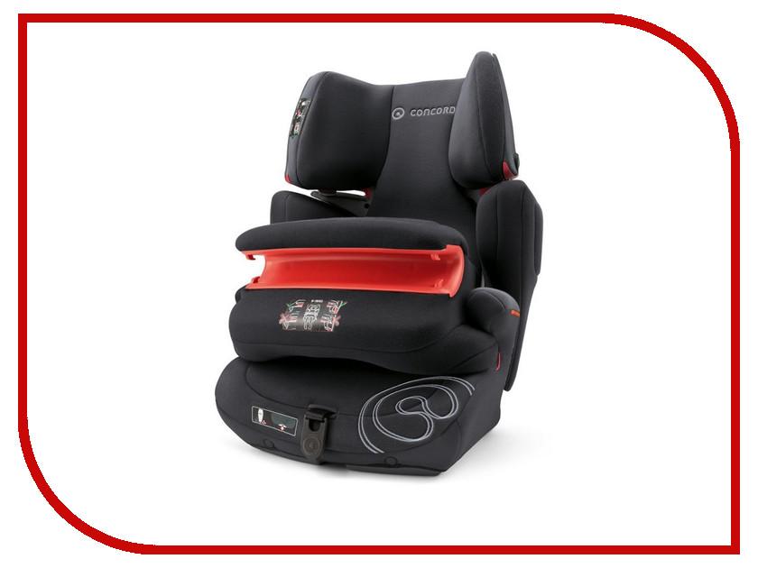 цена Автокресло группа 1/2/3 (9-36 кг) Concord Transformer T Pro Isofix Midnight Black