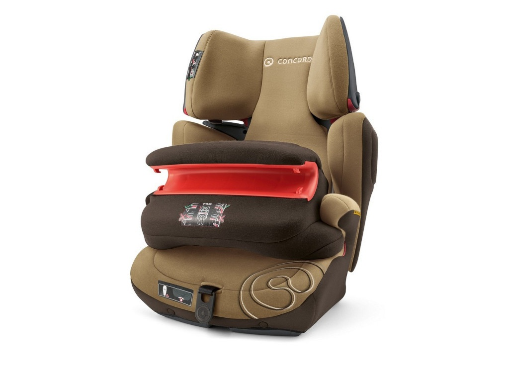 Автокресло группа 1/2/3 (9-36 кг) Concord Transformer T Pro Isofix Walnut Brown цена