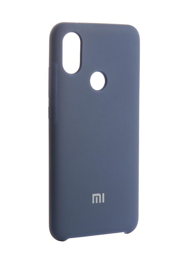 Аксессуар Чехол Innovation для Xiaomi Redmi A2 Silicone Blue 13536 аксессуар чехол для xiaomi redmi 6x mi a2 gurdini soft touch silicone blue 906609