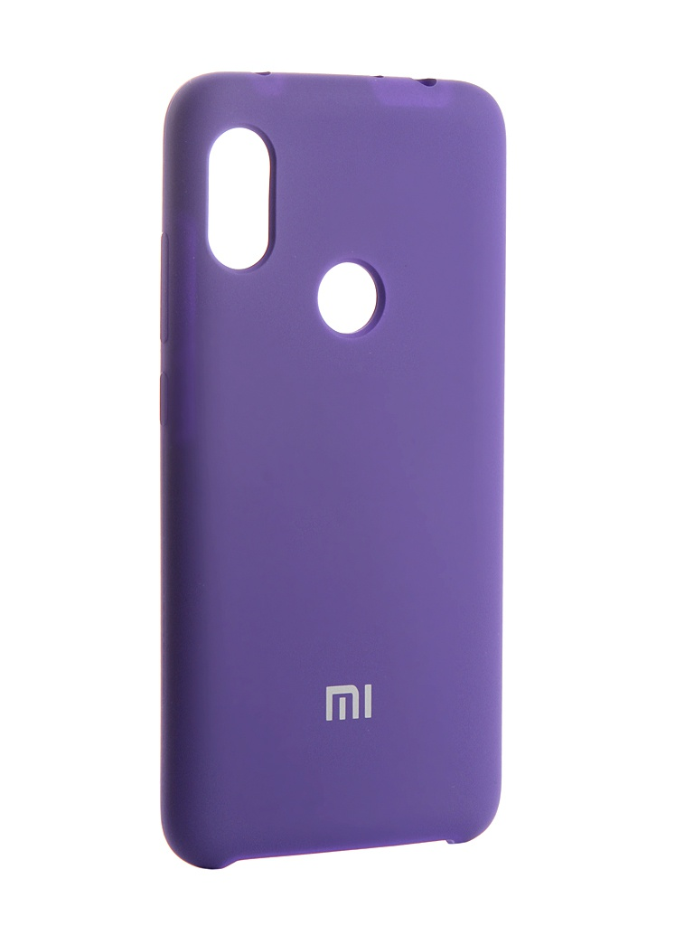 Аксессуар Чехол Innovation для Xiaomi Redmi Note 6 Silicone Purple 13532