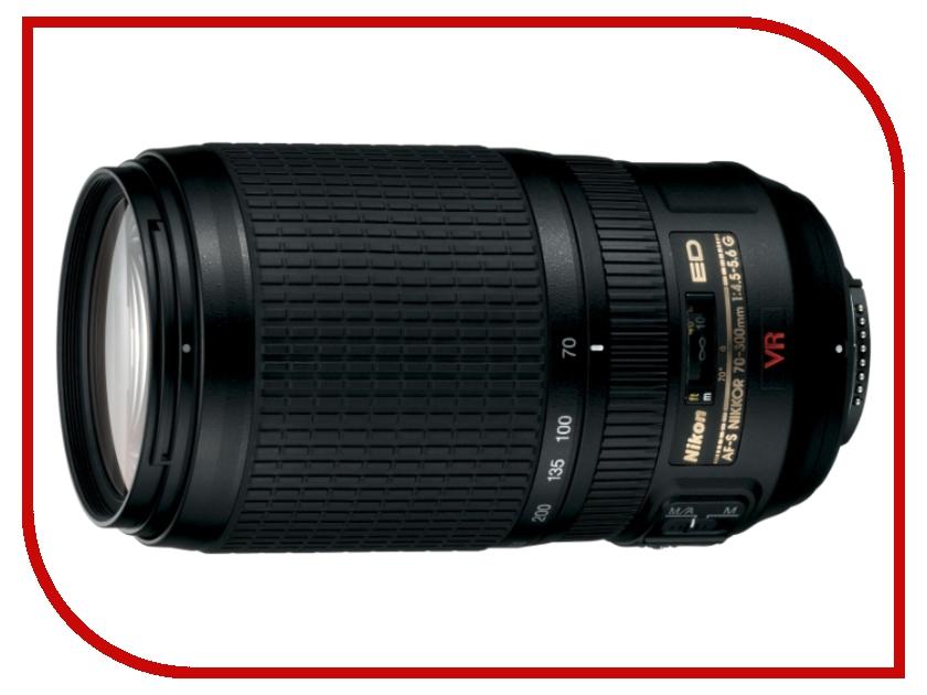 Объектив Nikon Nikkor AF-S 70-300 mm F/4.5-5.6 G IF-ED VR объектив nikon nikkor af s 70 300 mm f 4 5 5 6 g if ed vr