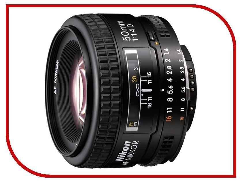 Объектив Nikon Nikkor AF 50 mm F/1.4 D<br>