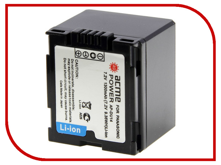Аккумулятор AcmePower AP DU14 аккумулятор acmepower ap np fv100