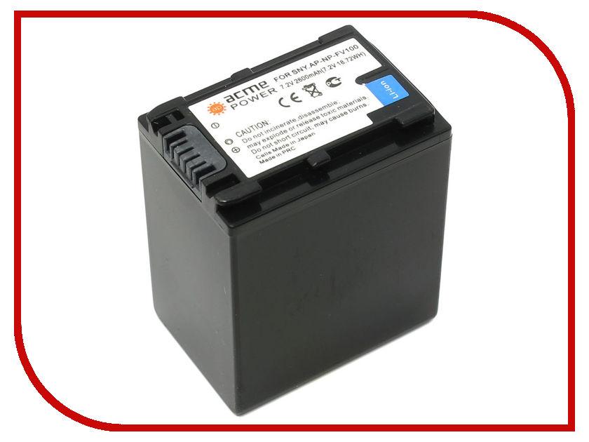 Аккумулятор AcmePower AP NP-FV100