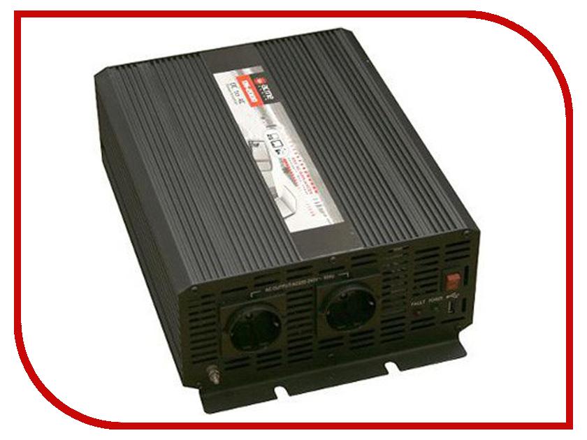 Автоинвертор AcmePower AP-DS2000/24 (2000Вт) с 24В на 220В автоинвертор acmepower ap ps1000 12 1000вт преобразователь с 12в на 220в
