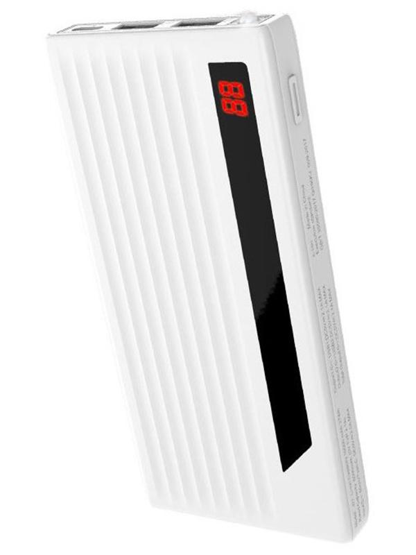 Аккумулятор Hoco J27 Power treasure 10000 mAh White аккумулятор hoco j29b cool square 20000 mah black