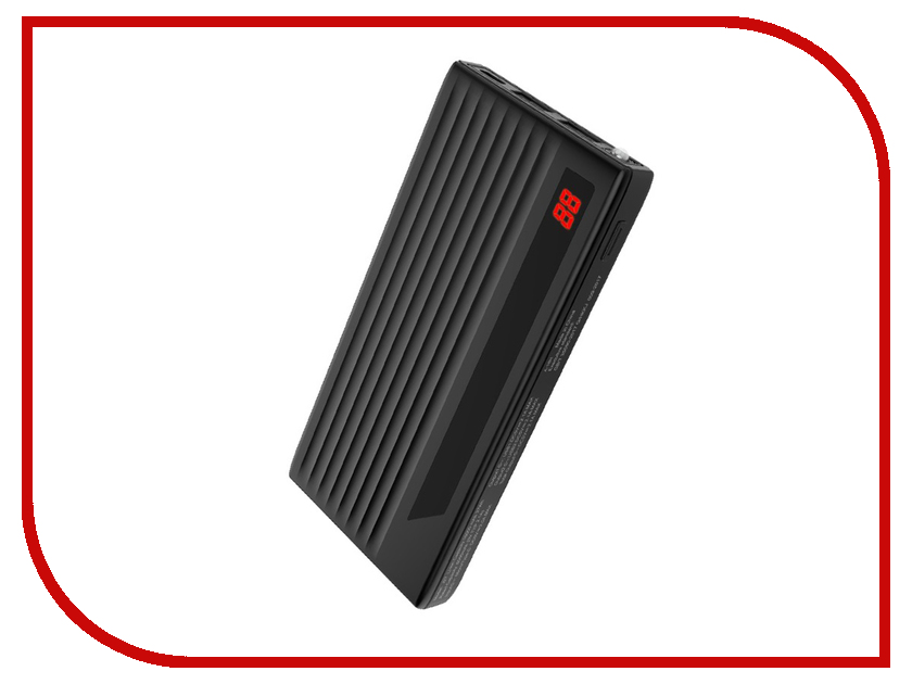 Аккумулятор Hoco J27 Power treasure 10000 mAh Black аккумулятор nano tech аналог bn 01 1500 mah для nokia x x