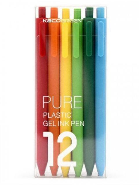 Набор гелевых ручек Xiaomi Pure Plastic Gelic Pen 12шт