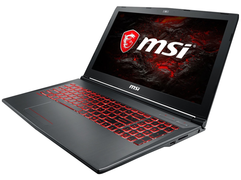 Ноутбук MSI GV62VR 7RF-1289RU MS-16JB 9S7-16JBD2-1289 Grey (Intel Core i7-7700HQ 2.8GHz/8192Mb/1000Gb+128Gb/No ODD/nVidia GeForce GTX 1060 3072Mb/bWi-Fi/Bluetooth/Cam/15.6/1920x1080/Windows 10 64-bit) купить недорого в Москве