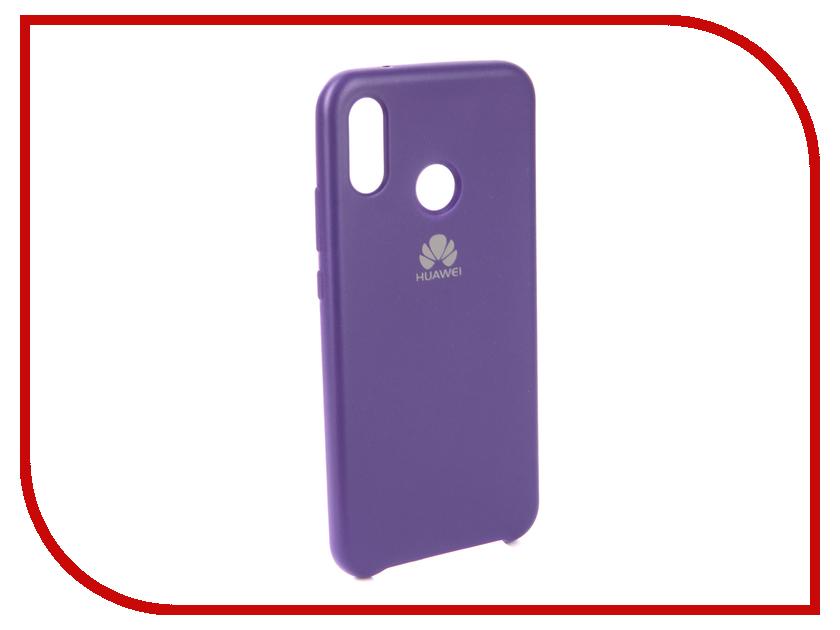 Аксессуар Чехол для Huawei P20 Lite Innovation Silicone Purple 13563 аксессуар чехол для huawei p20 lite innovation silicone pink 12617