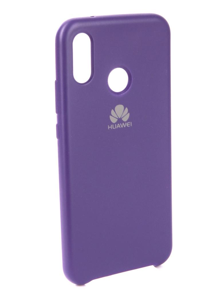 Чехол Innovation для Huawei P20 Lite Silicone Purple 13563