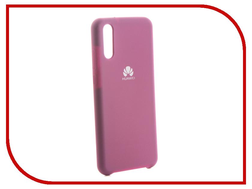 Аксессуар Чехол для Huawei P20 Innovation Silicone Purple 13562 аксессуар чехол для huawei p smart 7s innovation silicone pink 12840