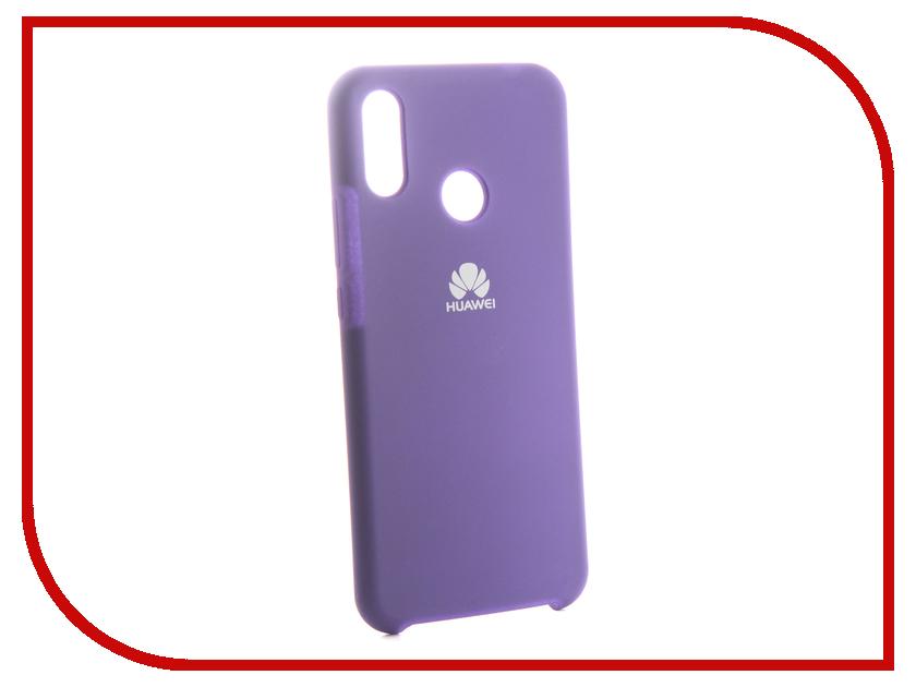 Аксессуар Чехол для Huawei Nova 3i Innovation Silicone Purple 13560 аксессуар чехол для huawei 7s p smart innovation silicone purple 13559