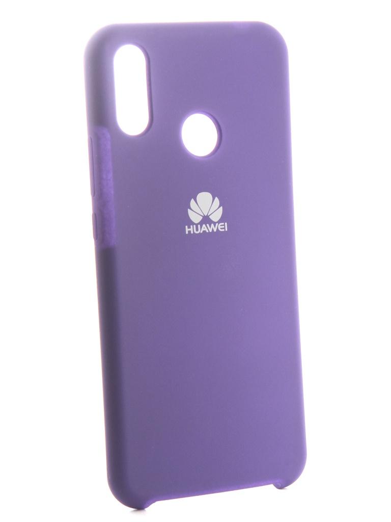 Чехол Innovation для Huawei Nova 3i Silicone Purple 13560