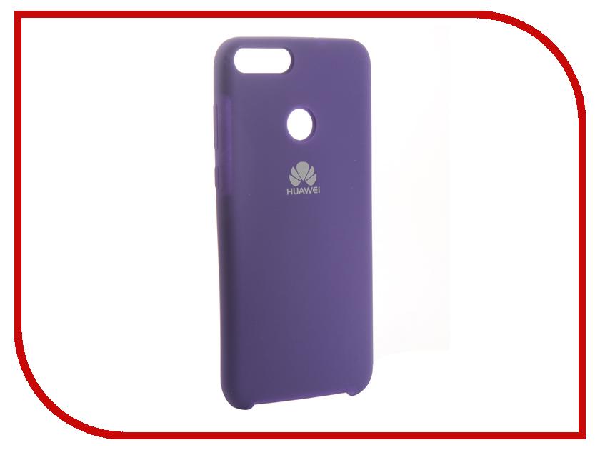 Аксессуар Чехол для Huawei 7S/P Smart Innovation Silicone Purple 13559 аксессуар чехол для huawei p smart 7s innovation silicone pink 12840