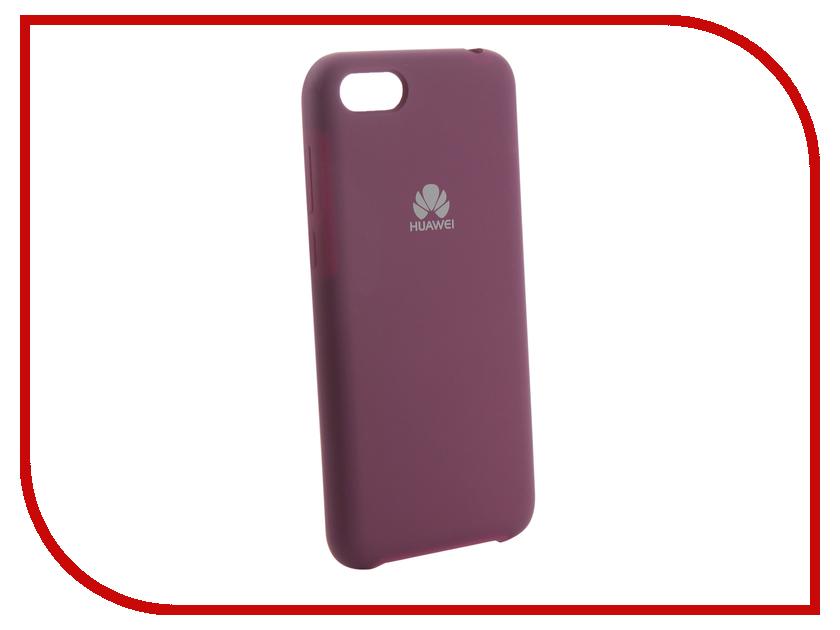 Аксессуар Чехол для Huawei 7A/Y5 2018 Innovation Silicone Purple 13558 аксессуар чехол для huawei 7s p smart innovation silicone purple 13559