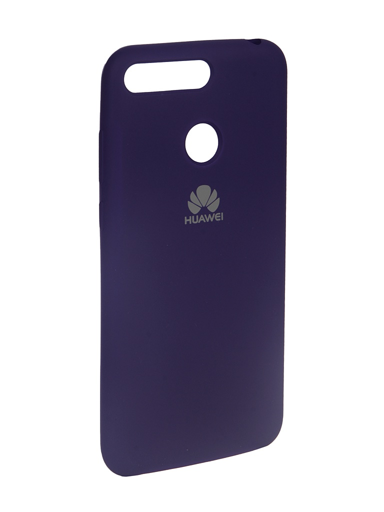 Аксессуар Чехол Innovation для Honor 7A Pro/Y6 Prime 2018 Silicone Purple 13557