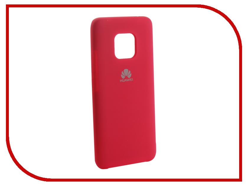 Аксессуар Чехол для Huawei Mate 20 Pro Innovation Silicone Pink 13529 аксессуар чехол для huawei mate 20 lite innovation silicone pink 13524