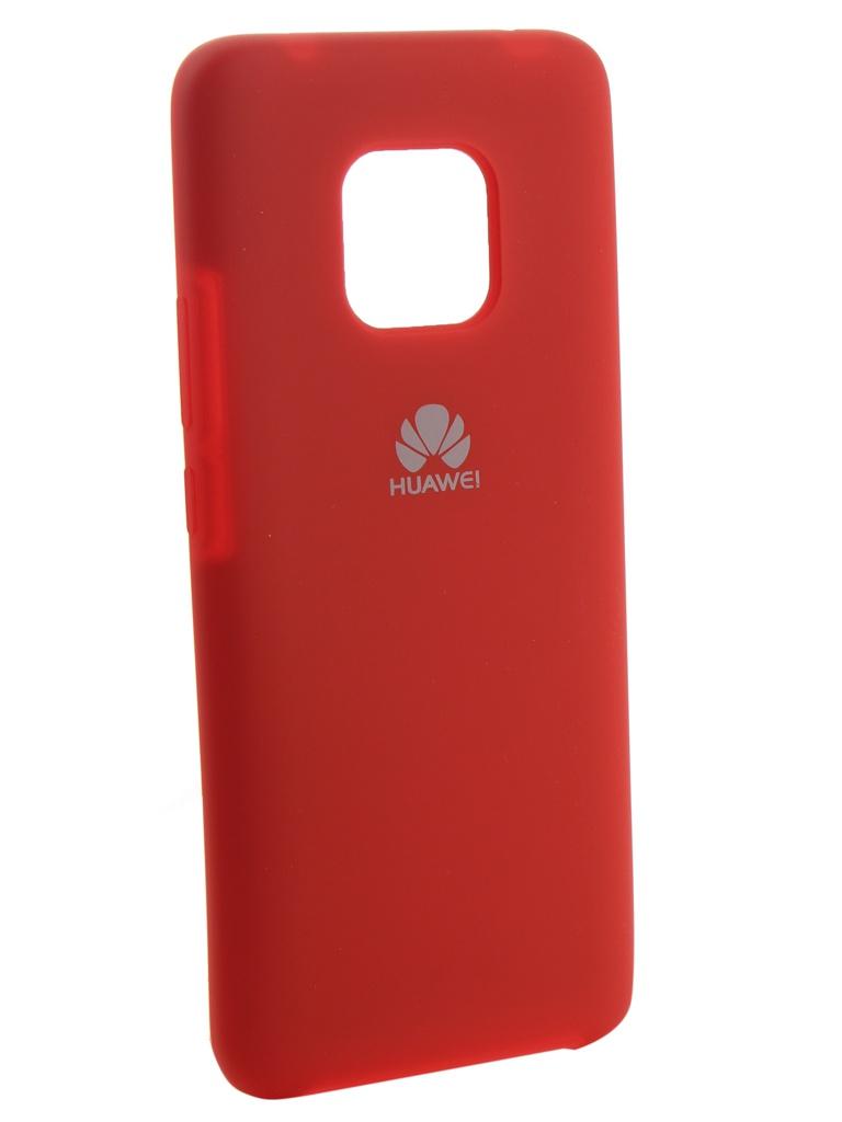 Аксессуар Чехол Innovation для Huawei Mate 20 Pro Silicone Red 13528