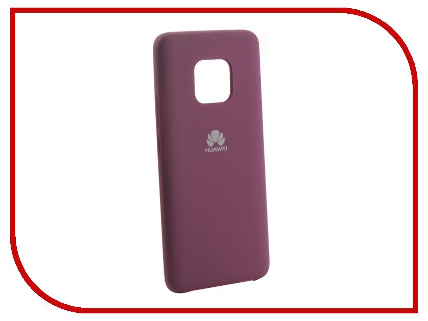 Аксессуар Чехол для Huawei Mate 20 Pro Innovation Silicone Purple 13527 аксессуар чехол для huawei p20 pro neypo brilliant silicone purple crystals nbrl4566