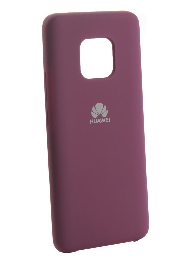 Аксессуар Чехол Innovation для Huawei Mate 20 Pro Silicone Purple 13527 аксессуар