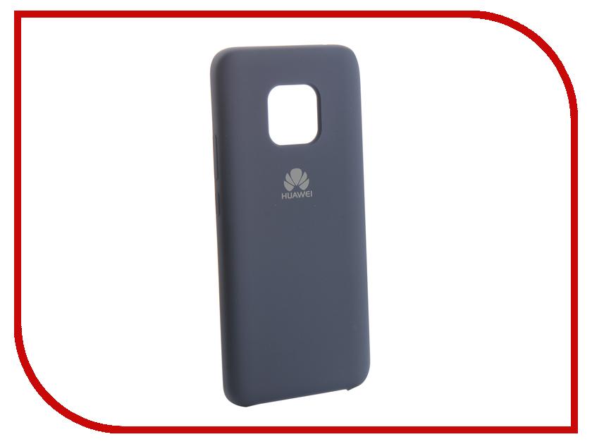 Аксессуар Чехол для Huawei Mate 20 Pro Innovation Silicone Blue 13526 аксессуар чехол для huawei mate 20 innovation silicone pink 13519