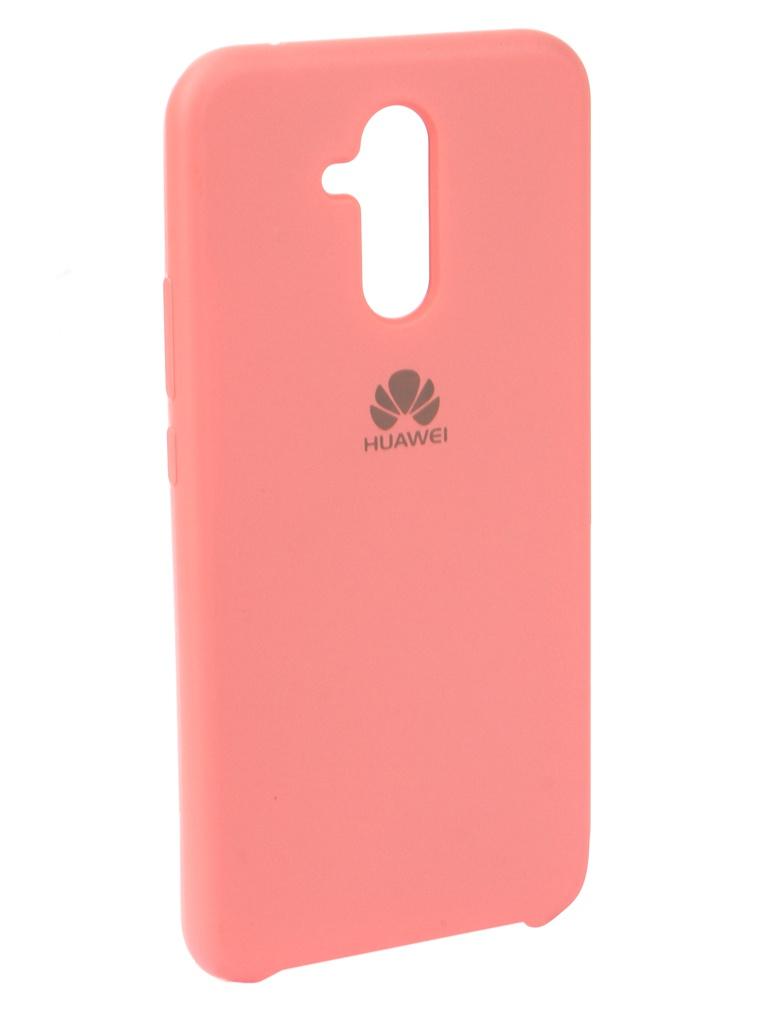 Аксессуар Чехол Innovation для Huawei Mate 20 Lite Silicone Pink 13524