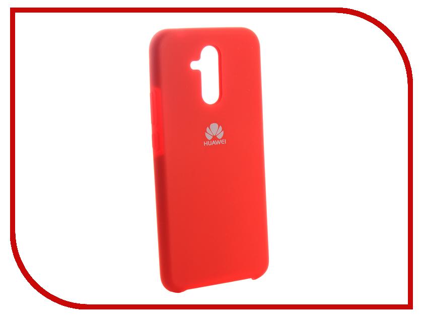 Аксессуар Чехол для Huawei Mate 20 Lite Innovation Silicone Red 13523 аксессуар чехол для huawei mate 20 lite innovation silicone pink 13524