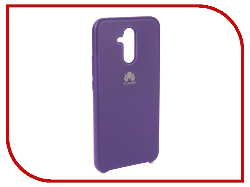 Аксессуар Чехол для Huawei Mate 20 Lite Innovation Silicone Purple 13522 аксессуар чехол для huawei mate 20 lite innovation silicone pink 13524