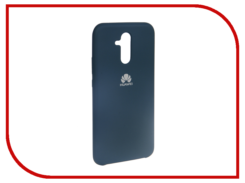 Аксессуар Чехол для Huawei Mate 20 Lite Innovation Silicone Blue 13521 аксессуар чехол для huawei mate 20 lite innovation silicone pink 13524