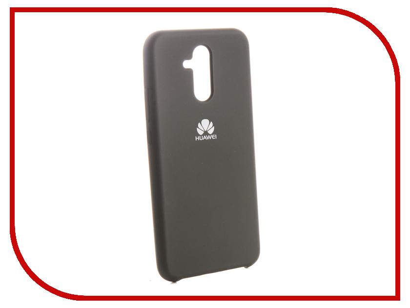 Аксессуар Чехол для Huawei Mate 20 Lite Innovation Silicone Black 13520 аксессуар чехол для huawei mate 20 lite pu view protective case black 51992653