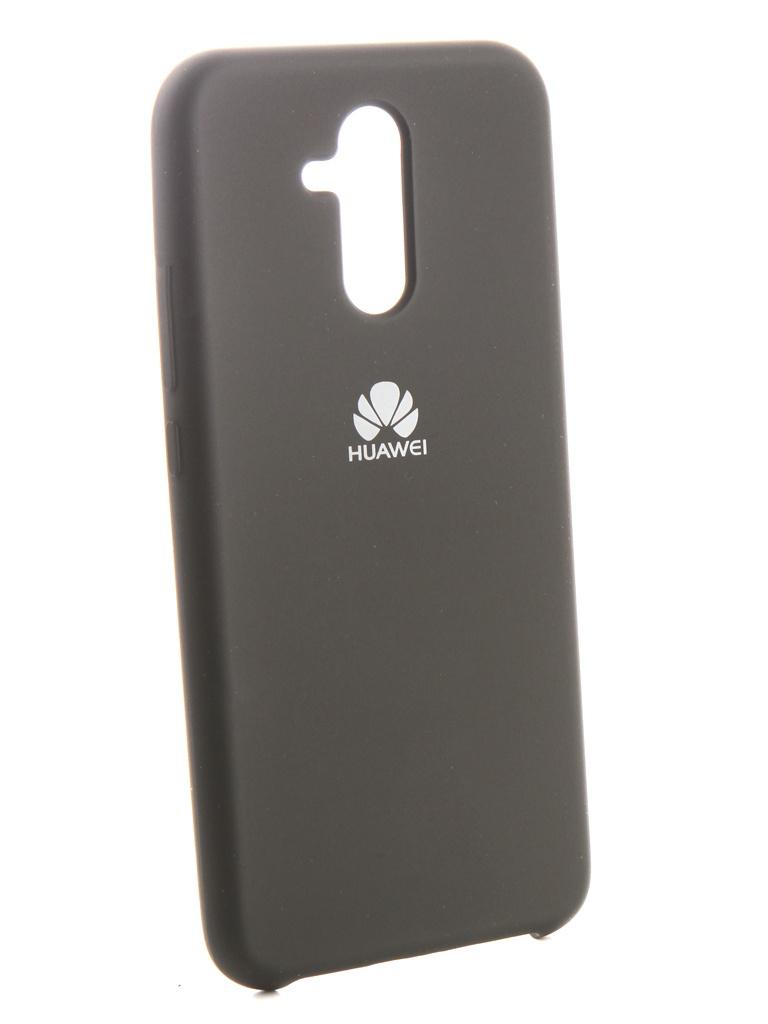 Чехол Innovation для Huawei Mate 20 Lite Silicone Black 13520